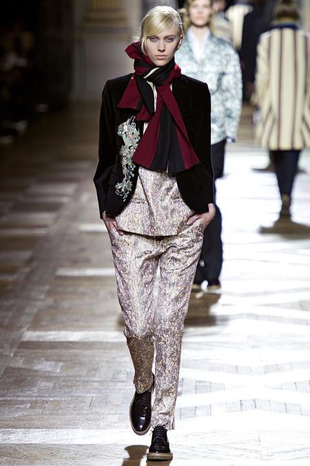 Dries Van Noten Fall 2013, Paris Fashion Week