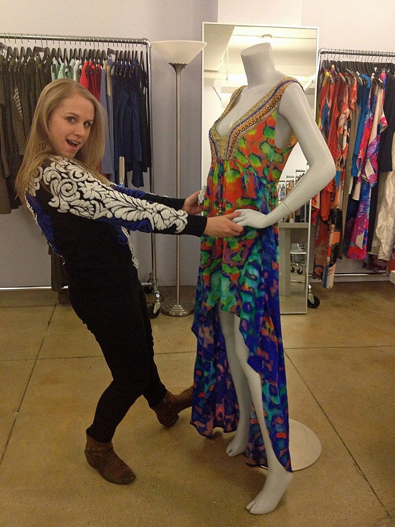 Dancing With A Mannequin