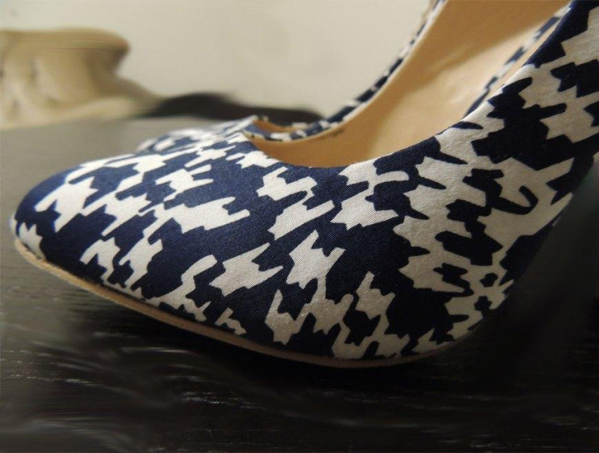 JustFab Printed Heels