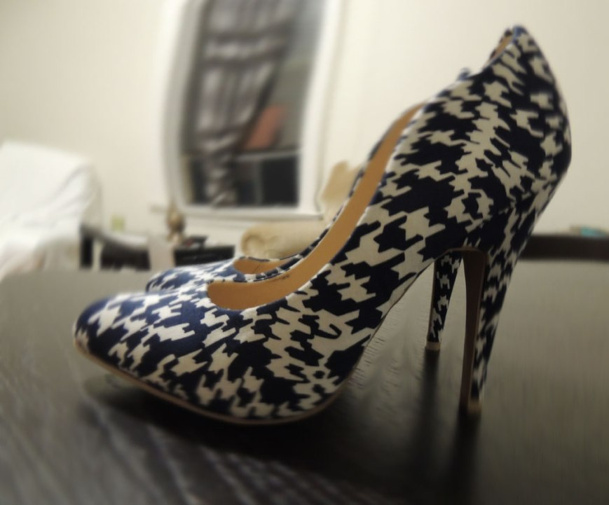 JustFab Printed Pumps