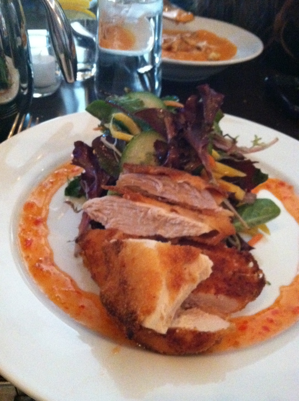 Chicken Salad at Rouge in Philadelphia