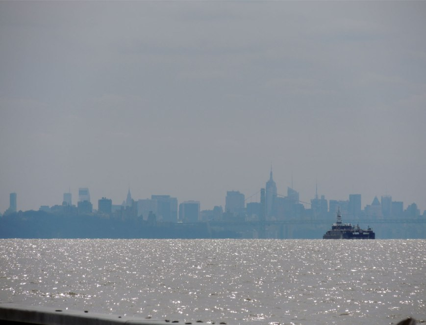 NYC Skyline from Tarrytown