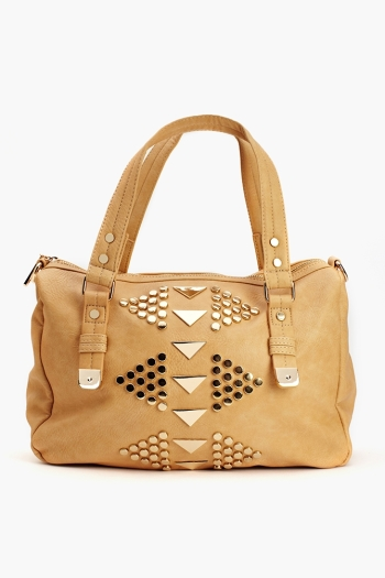 Nasty Gal Golden Triangle Tote