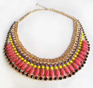Shop Bevel H. Parks Pink Lemon Bib
