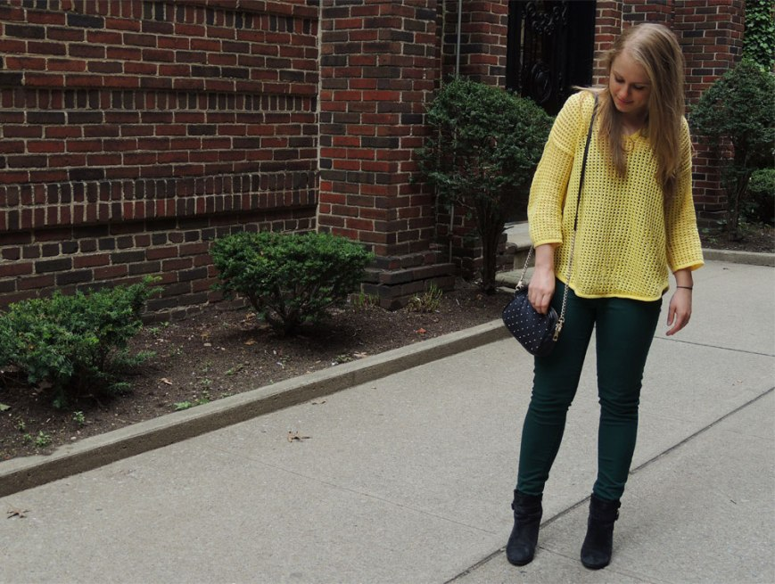Yellow Sweater // Marshall's