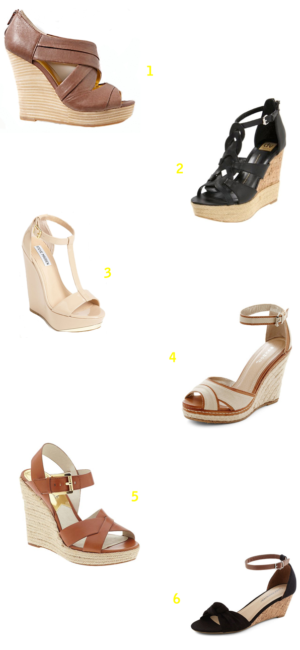 Stylish Summer Wedges