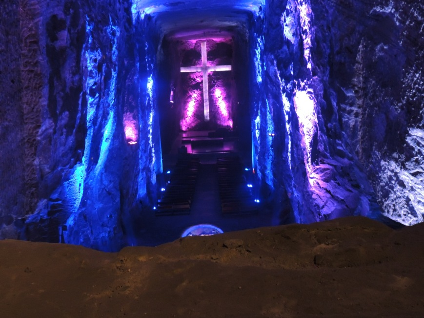 Catedral de Sal, Salt Cathedral, Zipaquira, Colombia