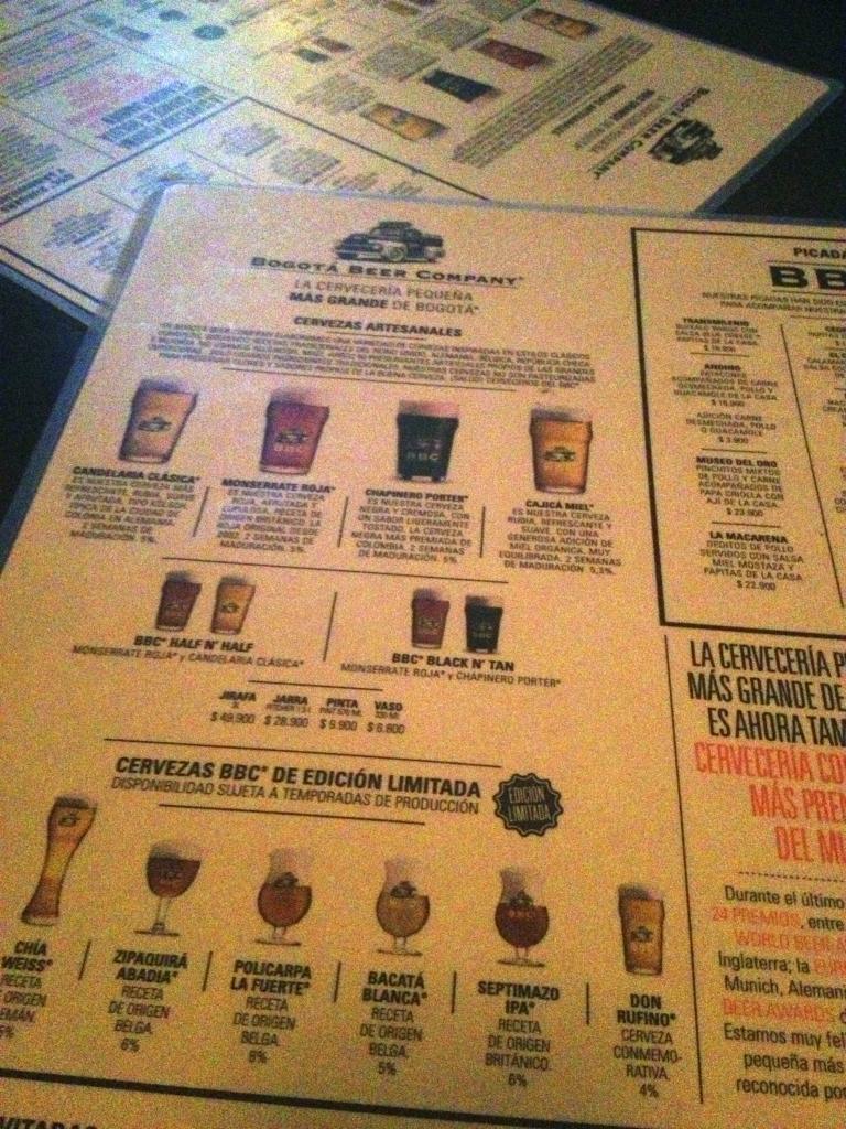 Bogotà Beer Company