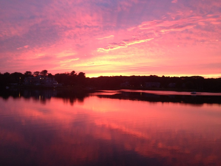 Kennebunkport-Maine-Sunset