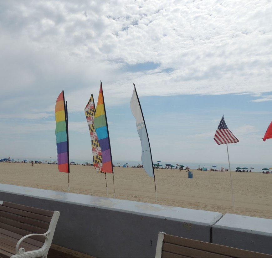 Ocean-City-Maryland-Beach-Flags