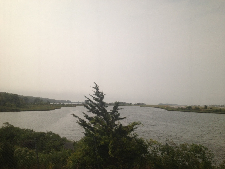 Amtrak Connecticut Scenery