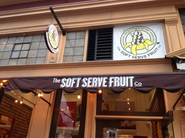 Chloe's Soft Serve Fruit, Union Square, NYC