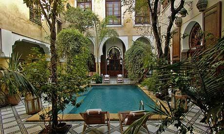 Riad Maison Bleue, Fez, Morocco