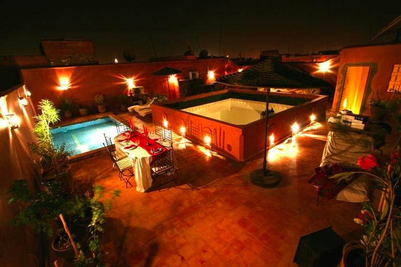 Riad Les Trois Mages, Marrakesh, Morocco